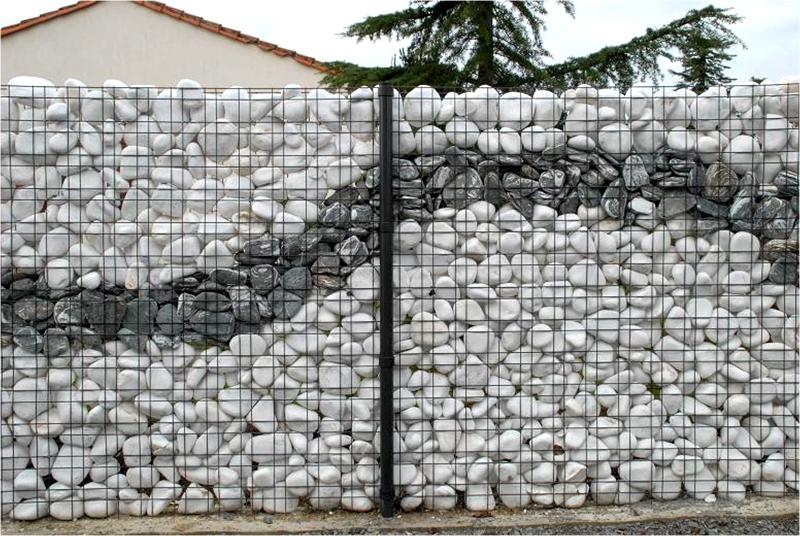 Декоративные заборы из камня своими руками - Забор из камня своими руками - каменный забор (фото)