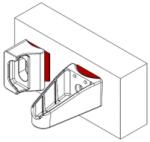 Detail příslušenstí pro uchycení branky